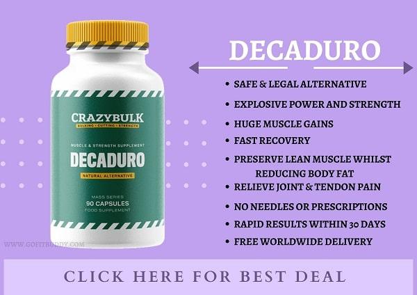 DecaDuro Reducing body fat